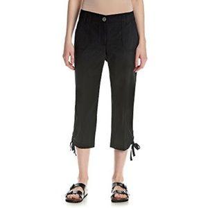 Studio Works Poplin Capris Black Pants Shorts